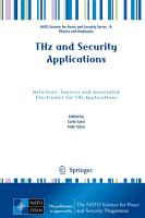 THz and Security Applications PDF