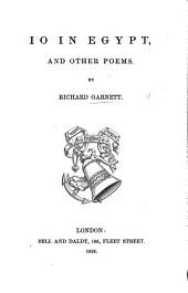 Io in Egypt, and other poems