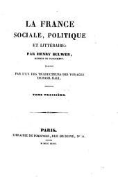 La France sociale, politique et littéraire: Volume2