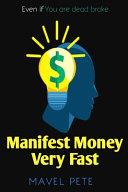 Manifest Money Very Fast PDF