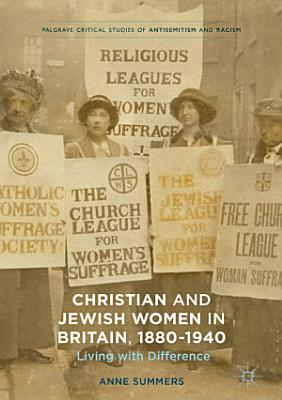 Christian And Jewish Women In Britain 1880 1940