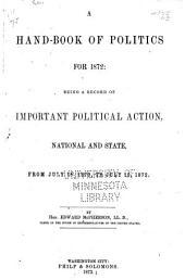 Handbook of Politics for ...
