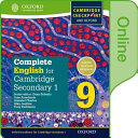 Complete English for Cambridge Lower Secondary Online Student Book 0 PDF