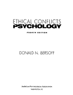 Ethical Conflicts in Psychology PDF