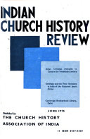 Indian Church History Review