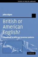 British or American English?