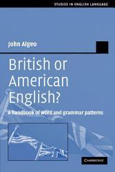 British Or American English  Book PDF
