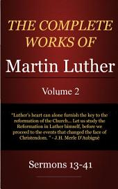 The Complete Sermons of Martin Luther, Volume 2