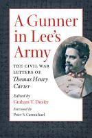 A Gunner in Lee s Army PDF