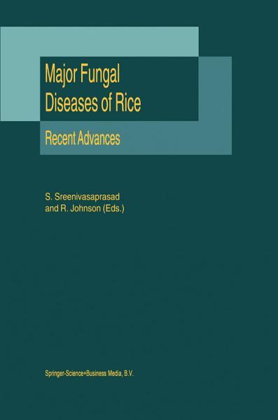 Download Major Fungal Diseases of Rice Book