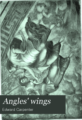 Angles' wings: a series of essays on art and its relation to life