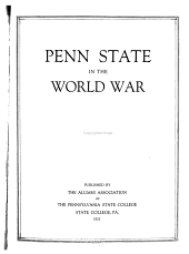 Penn State in the World War