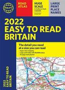 2022 Philip's Easy to Read Britain Road Atlas