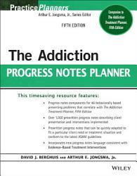The Addiction Progress Notes Planner PDF