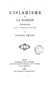 L'Islamisme et la science
