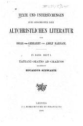 Tatiani Oratio ad Graecos