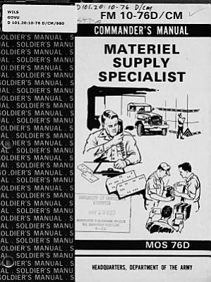 Materiel Supply Specialist PDF