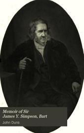 Memoir of Sir James Y. Simpson, Bart