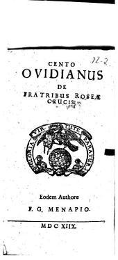 Cento Ovidianus De Fratribus Roseae Crucis