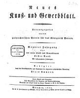 Neues Kunst  und Gewerbeblatt PDF