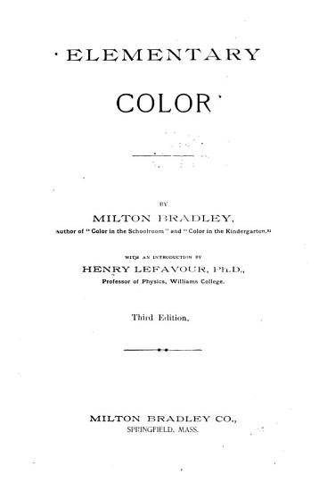 Elementary Color PDF