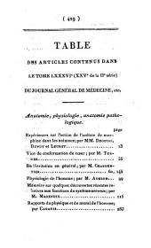 Journal général de médecine, de chirurgie et de pharmacie franc̜aises et étrangeres, ou, Recueil périodique de la Société de médecine de Paris: Volume86