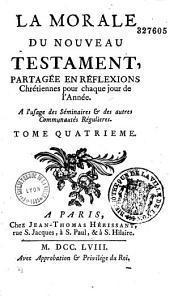 La Morale du Nouveau Testament