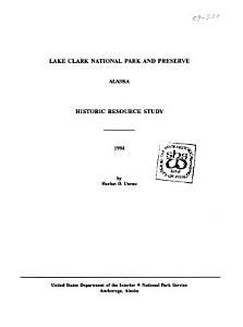 Lake Clark National Park and Preserve  Alaska PDF