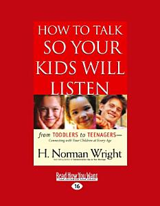 How to Talk So Your Kids Will Listen (Large Print 16pt) Book