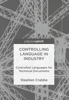 Controlling Language in Industry PDF