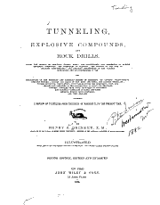 Tunneling  Explosive Compounds  and Rock Drills     PDF
