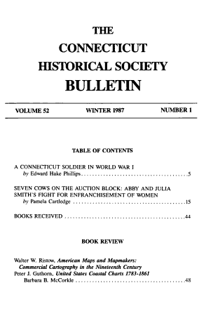 The Connecticut Historical Society Bulletin PDF