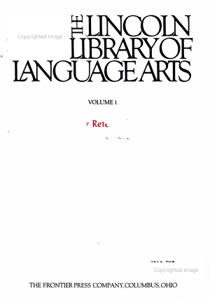 The Lincoln Library of Language Arts