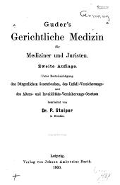 Gerichtliche Medizin für Mediziner und Juristen