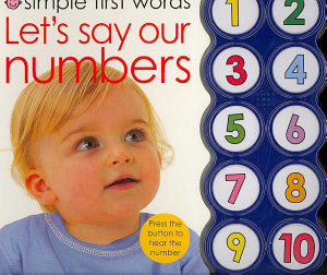 Simple First Words Let s Say Our Numbers PDF