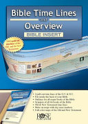 BIBLE TIME LINES   OVERVIEW