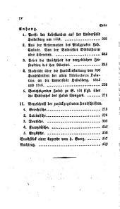 Geschichte der Bildung, Beraubung und Vernichtung der alten heidelbergischen Büchersammlungen. Nebst einem Verzeichniss der im Jahr 1816 von dem Pabst Pius vii. der Universität Heidelberg zurückgegebenen HSS.