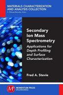 Secondary Ion Mass Spectrometry PDF