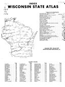 Wisconsin State Atlas PDF