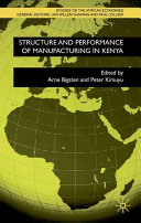 Structure and Performance of Manufacturing in Kenya PDF