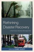 Rethinking Disaster Recovery PDF