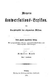 Meyers Konversations-Lexikon: Eine Encyklopädie des allgemeinen Wissens, Band 6