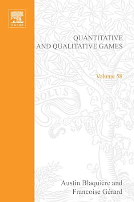 Quantitative And Qualitative Games By Austin Blaquiere Francoise Gerard And George Leitmann