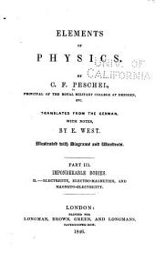 Elements of Physics: Volume 3