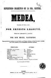 Medea: tragedia en tres actos
