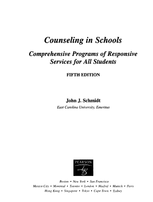 Counseling in Schools PDF