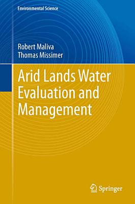 Arid Lands Water Evaluation and Management PDF