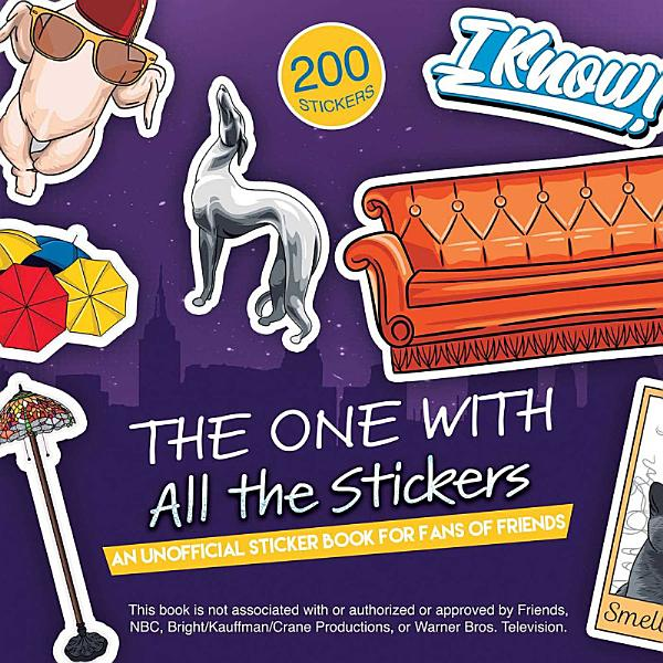 Download The One with All the Stickers Book