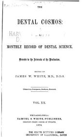 The Dental Cosmos: Volume 20