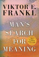 Man s Search For Meaning  Gift Edition PDF